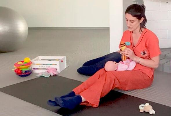 Clase de estimulación temprana