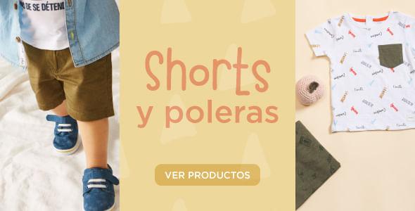 Shorts y poleras | Opaline
