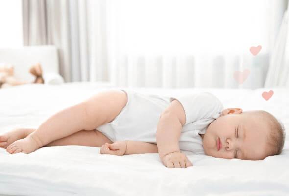 ¿Cómo deben dormir los recién nacidos?