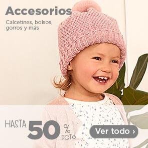 Accesorios - Calcetines, bolsos, gorros y más hasta 50%