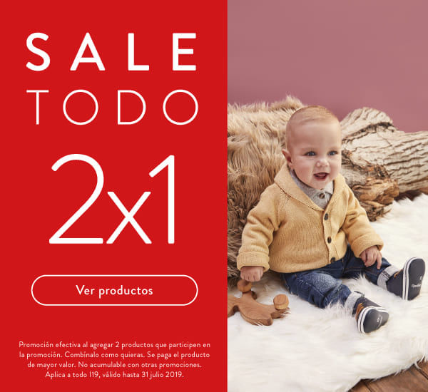 sale 2x1 ropa