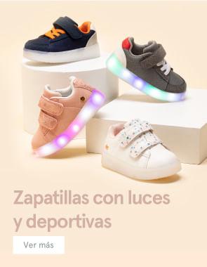 Zapatillas con luces y deportivas