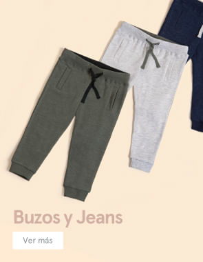 Buzos y jeans