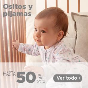 Ositos y Pijamas hasta 50%