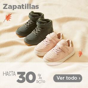 Zapatillas hasta 30%